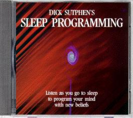 Be Relaxed And Stress Free Sleep programming CD